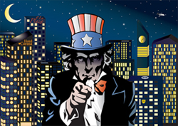 skyline-and-unclesam